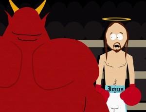 jesus&satan