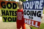 God hates gays