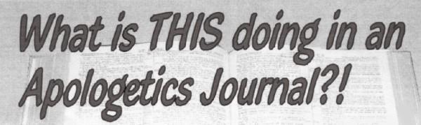 apologetics journal title