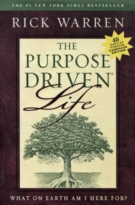 Purpose driven life graphic