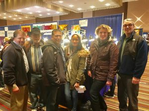 Left to right: Tony, Don, James, Kayla, Stephanie, Jeff