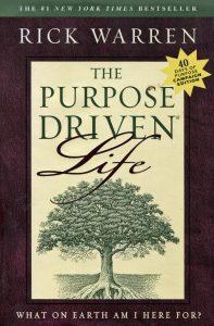 Purpose driven life graphic