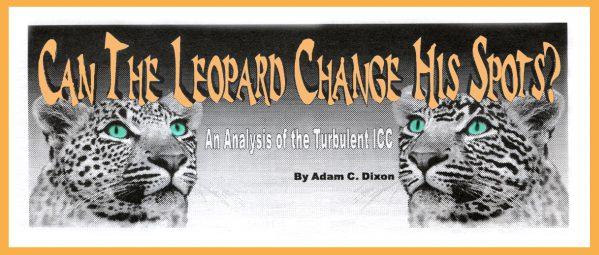 Leopard change spots graphic